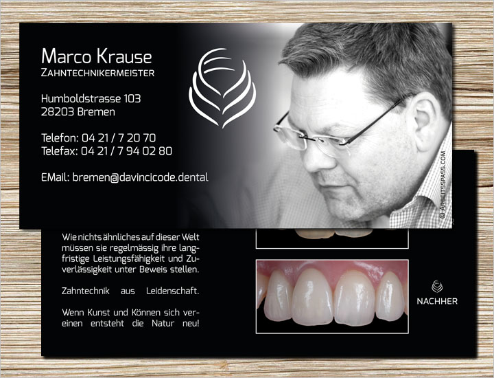 Flyer Dentallabor Marco Krause